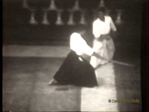 1977/07 Aikido Demonstration : Noro Sensei & D.Toutain Macon