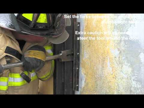 Forcible Entry: Conventional Inward Opening Door with Angle Iron
