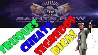 Saints Row IV # TODOS OS CHEATS # TRUQUES DO GAME # BR