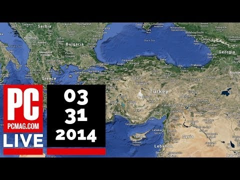 PCMag Live 03/31/14: Google DNS Intercepted in Turkey & Benefits of a Smartphone Kill-Switch