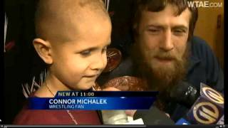 Daniel Bryan Taps Out To 7 Year Old Cancer Patient