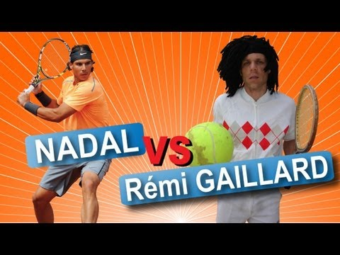 image vidéo Nadal Vs Rémi Gaillard