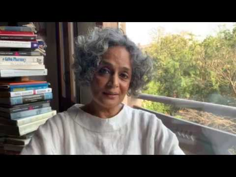 "Arundhati Roy ""The Pandemic is a Portal"" from her forthcoming book Azadi: Freedom. Fascism. Fiction."