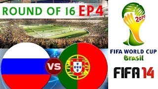 [TTB] 2014 FIFA World Cup Brazil Russia Vs Portugal