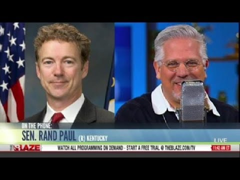 Glenn Beck: Rand Paul Endorses Mitch McConnell