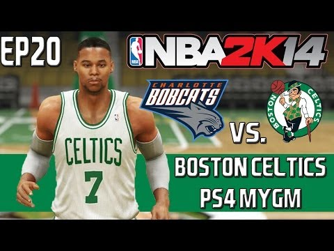 NBA 2K14 PS4 MyGM Mode: Boston Celtics - Playoff Debut! [Y2R1G1 EP20]