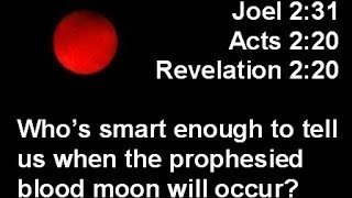 Watchman: Blood Red Moon And The Second Coming