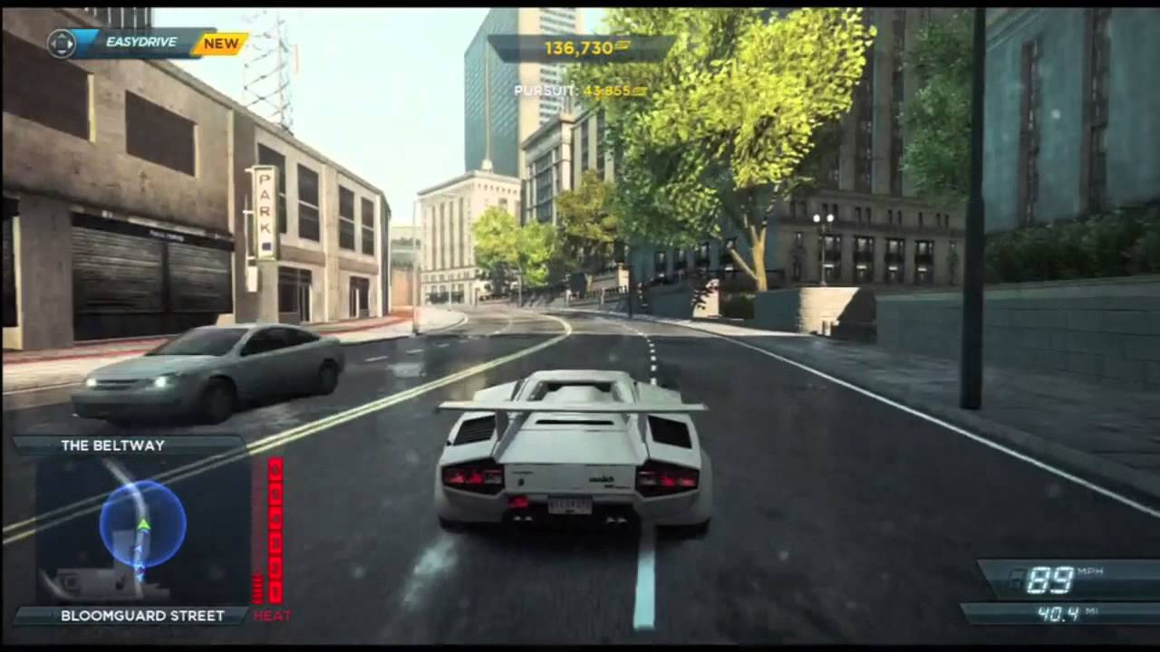 need for speed most wanted lamborghini countach level 6 heat pursuit nfs001 youtube. Black Bedroom Furniture Sets. Home Design Ideas