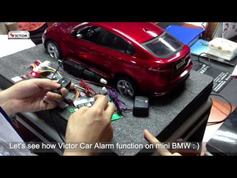 Victor Electronics-Car Security Products Sales Team Training with Mini BMW
