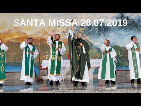 Santa Missa | 28.07.2019 | Padre José Sometti | ANSPAZ