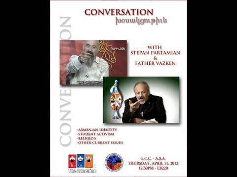 Fr. Vazken & Stepan Partamian Conversation at GCC - ASA