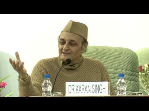 Dr. Karan Singh's Motivational Talk, Book Release and Announcement of New Delhi World Book Fair 2015