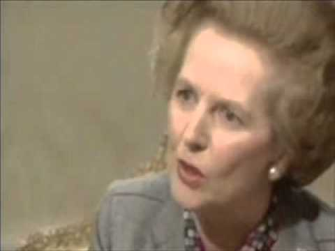 Margaret Thatcher Vs Robin Day 1984