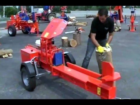 Despicator lemn de foc BALFOR A14 orizontal cu motor benzina