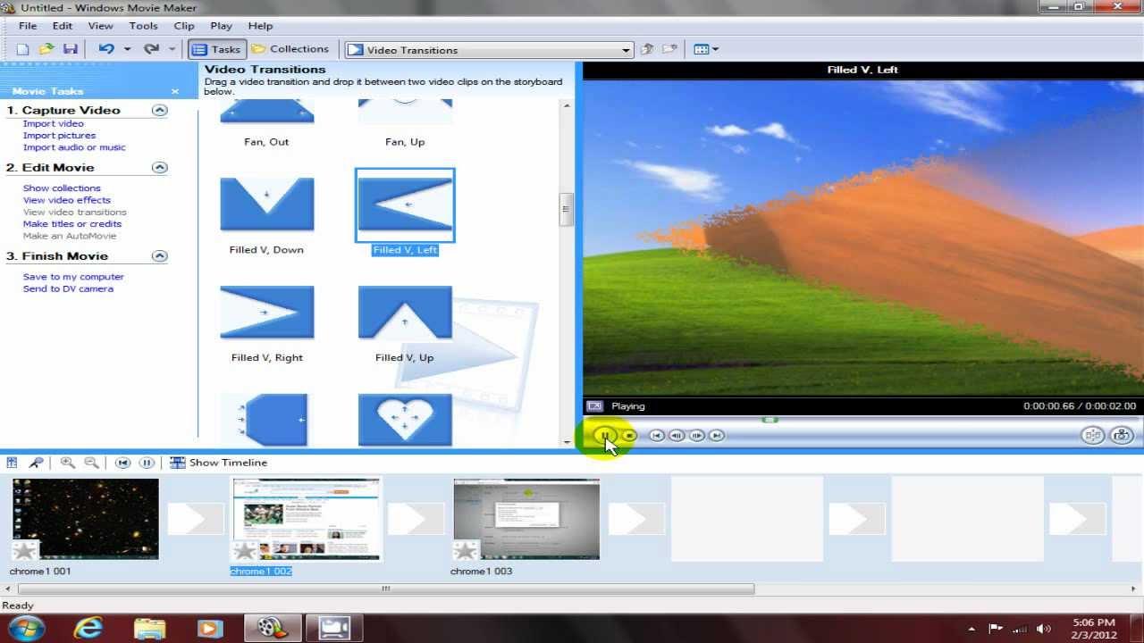 Windows Movie Maker Logo - Viewing Gallery