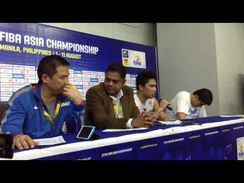 Emotional Ranidel De Ocampo addresses media post-Philippines win over Korea