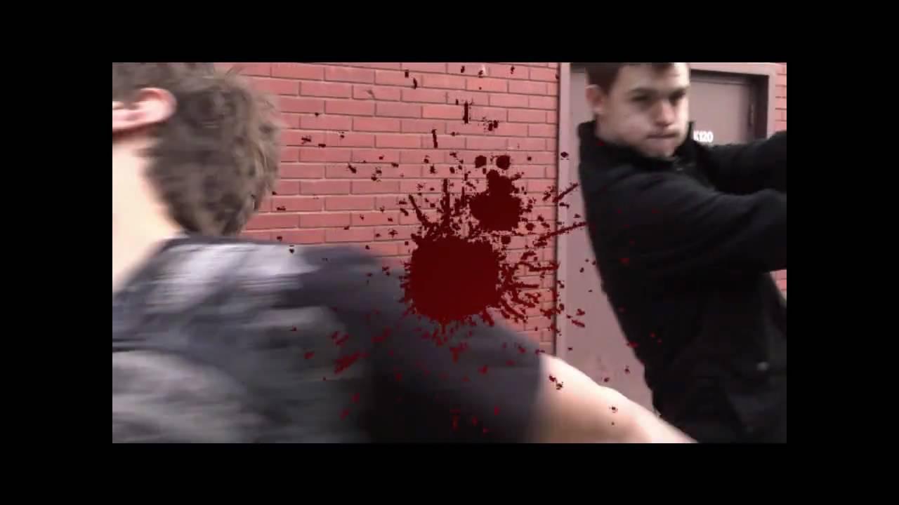 blood splatter after effects - YouTube