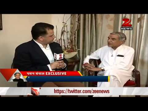 Exclusive interview with Pawan Kumar Bansal,the Congress candidate from Chandigarh