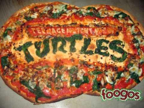 Pizza power les tortues ninja en concert 1990 french - Tortues ninja pizza ...