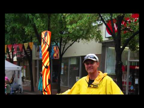 Streets Alive ! Outdoor Art Program in Orillia, ON