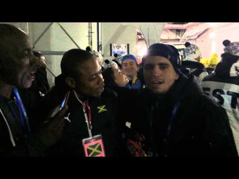 Jamaica Bobsled Sochi Opening Ceremony I Shot the Sheriff