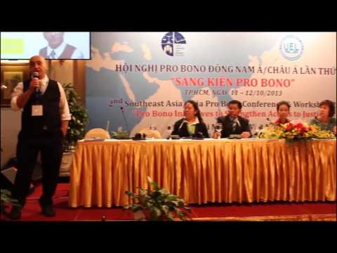 2nd Southeast Asia/Asia Pro Bono Conference & Workshop 2013