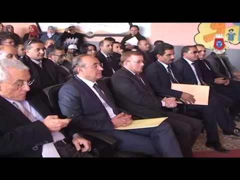 لقطات من زيارة الوزير بوليف لتيزنيت