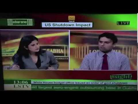 Dr. Sreeram Chaulia on US government shutdown