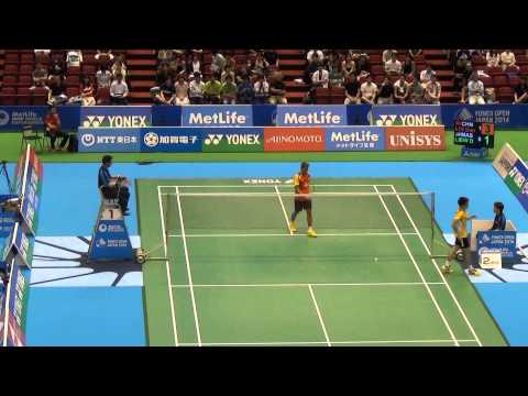 [HD] Q - MS - LIN Dan vs LIEW Daren - 2014 Badminton Japan Open