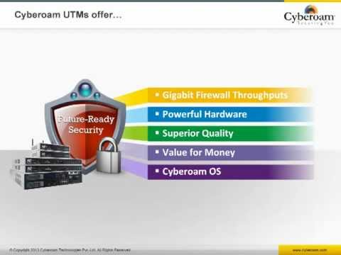 Cyberoam UTM - Product Walkthrough