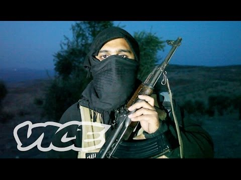 VICE NEWS exclusive footage and interviews with British nationals fighting with al Qaeda in Syria.  Yesterday, MI5 Director-General Andrew Parker announced that hundreds of British Muslims have travelled to Syria to take part in \