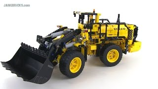 LEGO Technic Volvo L350F Wheel Loader 42030 Review! Full