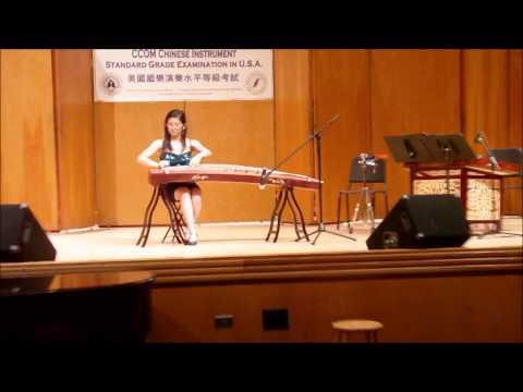 2012 CCOM Exam USA Concert Recital -- Grade 9 Guzheng -- by Janice Shiu