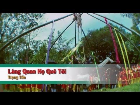[Karaoke] Làng Quan Họ Quê Tôi - Trọng Tấn (Beat HD)