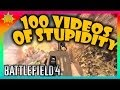 ☼ Battlefield 3 & 4 - Random Trolling & Challenge Accepted Playlists (100 videos of derp)