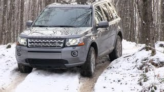 Land Rover LR2 & Freelander Snowy & Icy Off-Road First Drive Review: 2013 videos