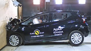 Nissan Micra (2017) Crash Tests [YOUCAR]. YouCar Car Reviews.