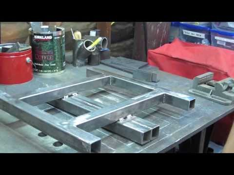 MIG Welding a Chop Saw Stand - Part 1