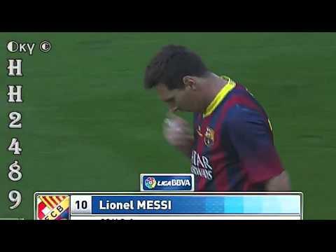 Barcelona vs Getafe 1-0 → GOL Leo MESSI← Barcelona 1:0 Getafe ~  Liga BBVA ~ 03-05-2014