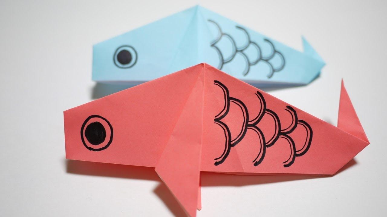 こいのぼりの折り方 - How to make ... : 折り紙 鯉のぼり の折り方 : 折り方
