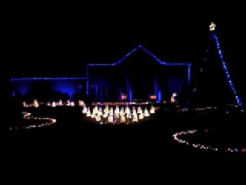 Holiday house christmas lights set to music youtube for Christmas house music
