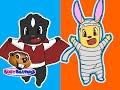 """""""5 Little Monsters"""" - Kids Halloween Song, 5 Little Monkeys, Five Little Monkeys, Baby Nursery Rhyme"""