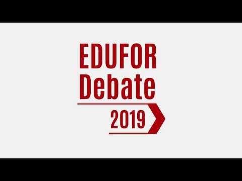EDUFOR DEBATE 2019 | Cobertura do Evento