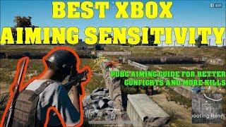 pubg xbox one best sensitivity
