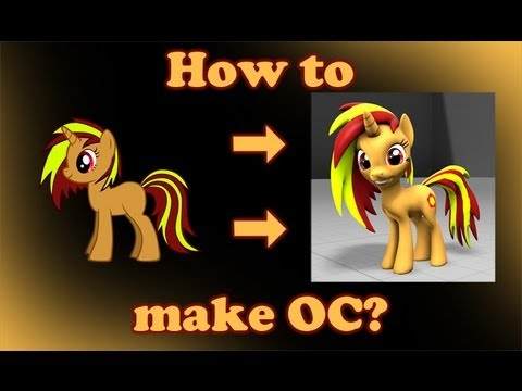 How to make pony OC for SFM Gmod OLD YouTube