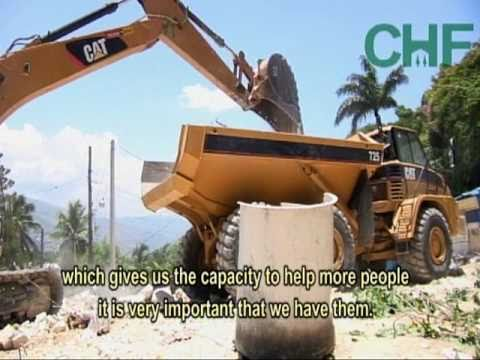 Clearing the Path for Reconstruction in Haiti