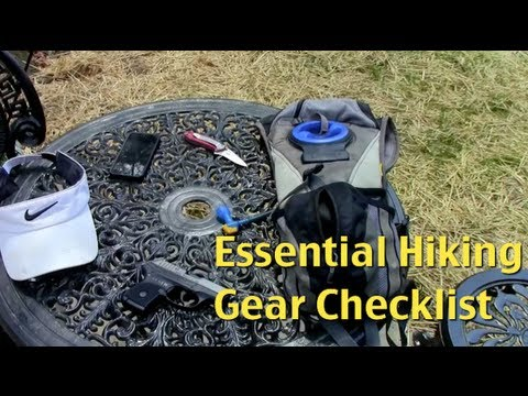 My Essential Hiking Gear Checklist For Local Hikes