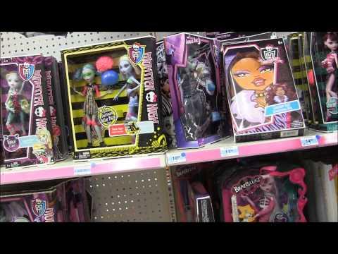 Hình ảnh trong video Monster High Werecats Fearleading Three Pack