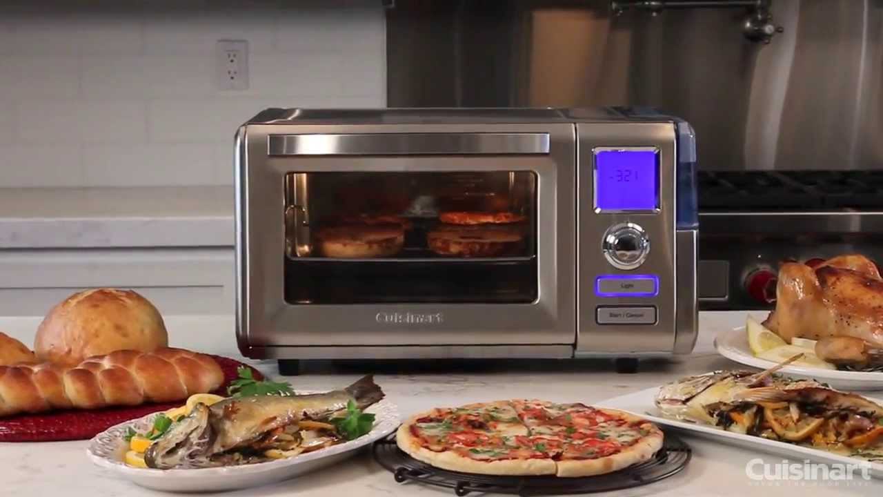 Countertop Convection Oven With Steam : Cuisinart Combo Steam + Convection Oven (CS0-300) Commercial Video ...