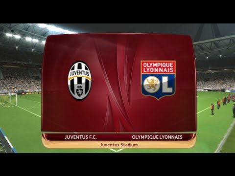 PES 2014 - Europa League - Juventus vs. Lyon [PS3]